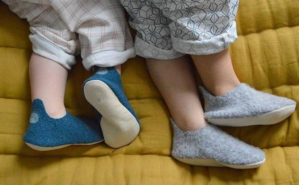 Les chaussons cosy